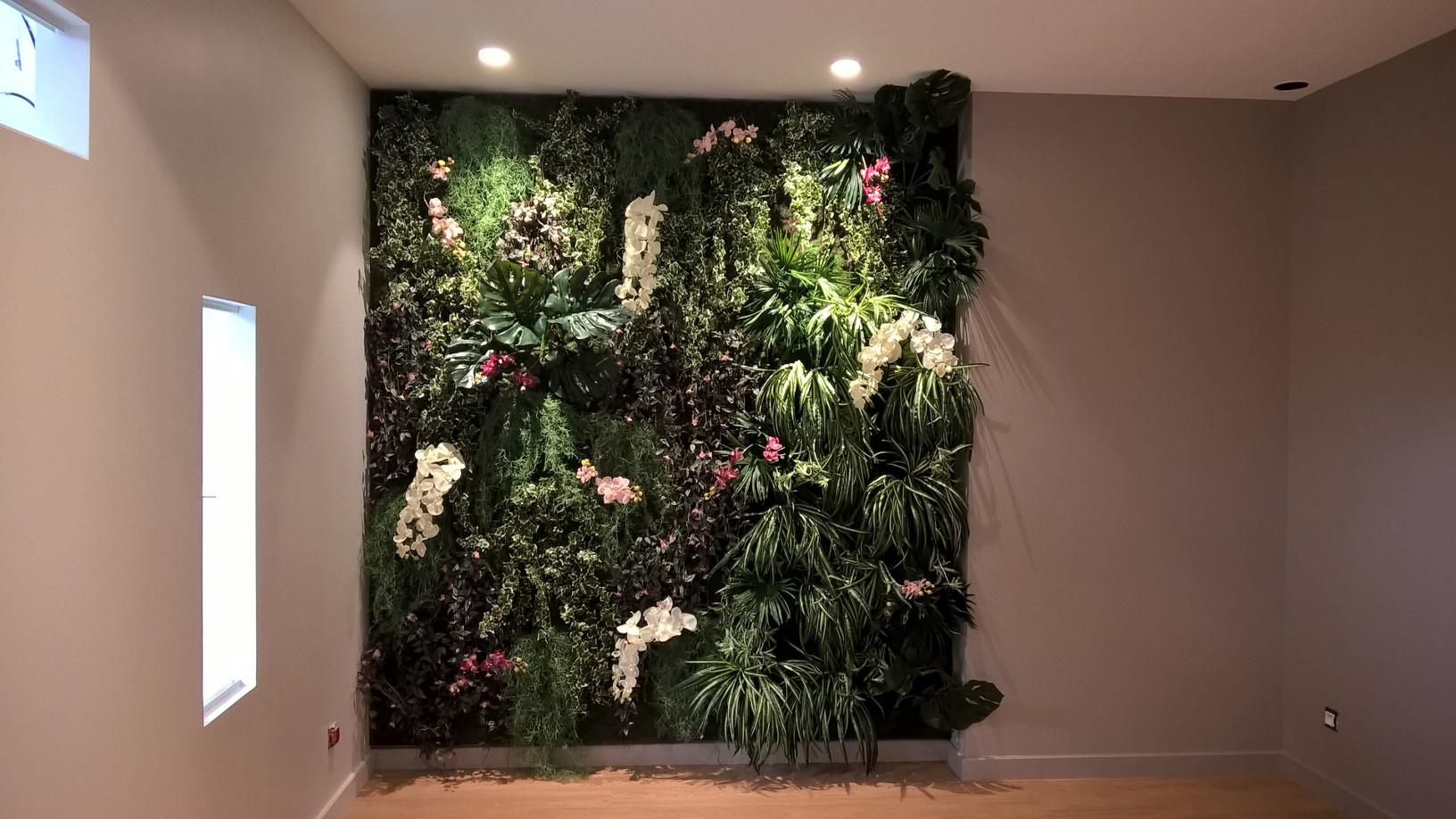 Plante Sur Les Murs leclerc - moulins - naturel design
