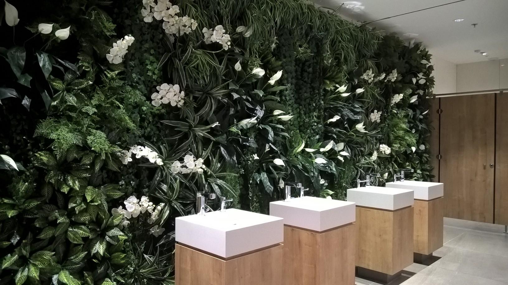 Plante Sur Les Murs mur végétal - naturel design